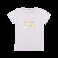 矢量 卡通 可爱动物 人物-时尚童装修身T恤