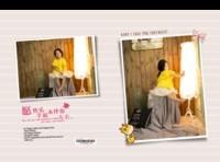 【快乐时光,快乐童年-记录宝宝每一天】(图文可换)小清新,可爱,文艺-竖12寸硬壳高端对裱照片书42p