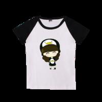 个性可爱,天真·萌萌哒-时尚童装插肩T恤