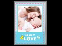 妈妈的love 爱的礼物 亲子宝贝成长纪念16819a1109-A4骑马钉画册