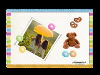 小熊宝宝-亚克力台历(7页有框)