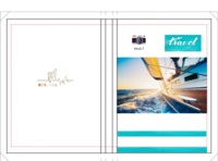 2016游行在路上 旅行纪念册 看世界 图文可换-硬壳精装照片书20p