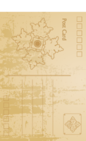 怀旧明信片系列21-全景明信片(竖款)套装