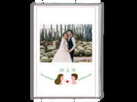 【她和他】我们的故事 送男友送女友 周年纪念-A4时尚杂志册(26p)
