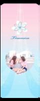 心♥花✿-定制单面书签