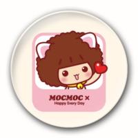 情侣配可爱摩丝+温柔仔仔-3.2个性徽章