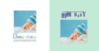 时尚宝贝幸福童年亲子精美照片书-方8寸硬壳照片书32p