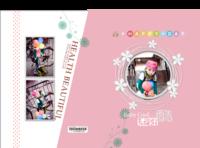 迷你酷(封面封底图片可替换)-竖12寸硬壳高端对裱照片书32p