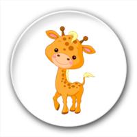 长颈鹿-2.5徽章