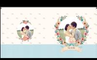 幸福花嫁-照片可替换-8x8对裱特种纸30p套装