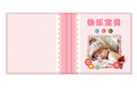 快乐宝贝-粉色系-6x6高清银盐照片书