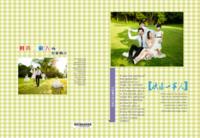快乐一家人-家庭-全家福-照片可替换-高档纪念册32p