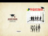 毕业纪念册#-竖12寸硬壳高端对裱照片书42p