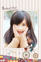 快乐每一天-我的美丽世界(封面照片可替换)-8x12水晶银盐照片书30p