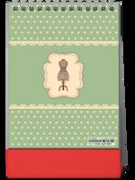 【慢生活】感受时光温度の公主风轻复古缝纫元素-8寸竖款单面台历