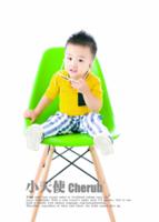 儿童 萌娃 宝贝 照片可替换-7寸木版画竖款