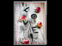 我们的爱情故事 浪漫唯美-A4骑马钉画册