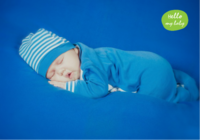 hello my baby 熟睡中的宝贝-B2单面横款印刷海报