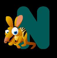 �n��n�_毕业季卡通字母团n