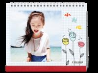 可爱小甜心(宝贝 亲子 甜美 萌 儿童)-10寸单面印刷台历