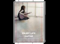 【吉他の音乐世界】轻文艺简约慢生活-A4时尚杂志册(24p)