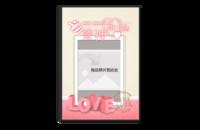 当爱神来临-欧式浪漫婚礼爱情-8x12水晶照片书