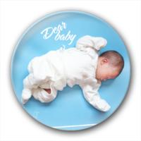 dear baby-创意镜子钥匙扣