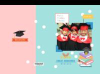 幼儿园宝宝毕业册照片可替换-硬壳精装照片书22p