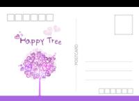 happy tree 幸福树2 幸福爱情时光纪念-等边留白明信片(横款)套装