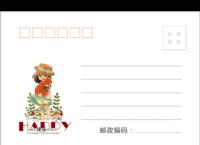 MX67卡通 可爱儿童成长 亲子宝贝纪念-全景明信片(横款)套装