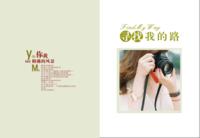 清新文艺风照片书可用于亲子、闺蜜、青春、毕业季等等-8x12高清绒面锁线24P