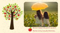 幸福树-横款抽取式台历