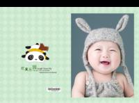 欢笑乐园-亲子-儿童-萌娃-卡通-男女通用-照片可换-硬壳精装照片书22p