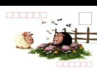 羊年大吉-全景明信片(横款)套装