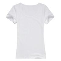自由DIY-女款精梳棉圆领T恤