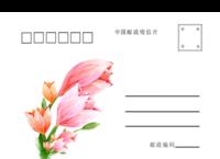 小清新 潮流 爱情 通用-全景明信片(横款)套装