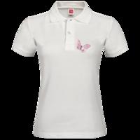 蝴蝶飞-女款纯色POLO衫