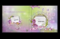 紫语柔情(无字版)-6x6照片书