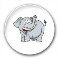 大象-7.5个性徽章