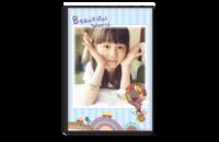 我的美丽世界 Beautiful world-A4-8x12单面银盐水晶照片书