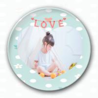 LOVE-4.4个性徽章