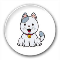 可爱猫咪-7.5个性徽章