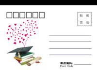 校园情怀-18张全景明信片(横款)
