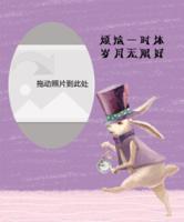 梦幻兔子-定制照片卡