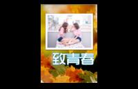 致青春-8x12印刷单面水晶照片书20p