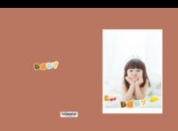 可爱宝贝 萌宝宝 样图可以换-硬壳精装博彩娱乐网站书30p
