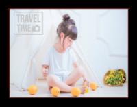 旅行时间-8寸横式木版画