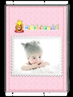 萌娃记录册-儿童-宝宝-宝贝日记-宝贝的成长记录册-可更换照片-A4杂志册(32P)