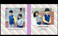 happy family-8X8锁线硬壳精装照片书24p
