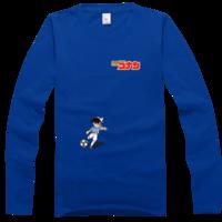 柯南/踢足球的柯南高档彩色纯棉长袖T恤